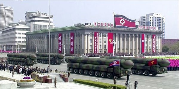 North Korea's missile launch attempt fails