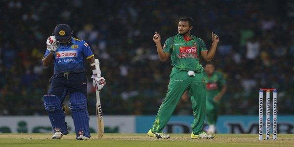 Bangladesh beat Sri Lanka by 45 runs in T20 match