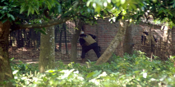 Four suspected militants in Chapainawabganj raids