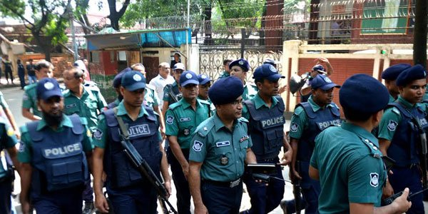 Police raid Bangladesh opposition chief's office