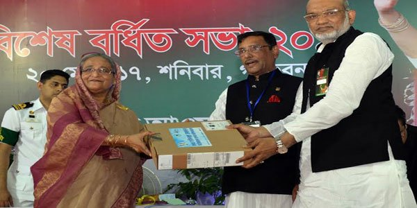 AL begins laptop distribution for party offices