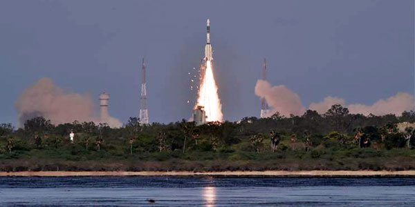 South Asia satellite launched into orbit
