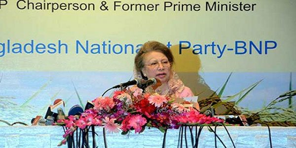 Khaleda announces vision 2030 with promise to curb PM's 'absolute' power