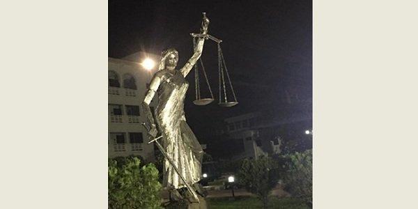 Bangladesh reinstalls Lady Justice statue