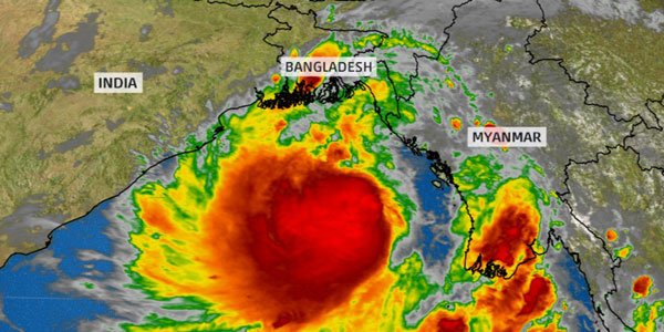 Cyclone Mora won't bring any immediate danger to India