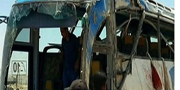 Gunmen attack bus killing 26 Christians in Egypt