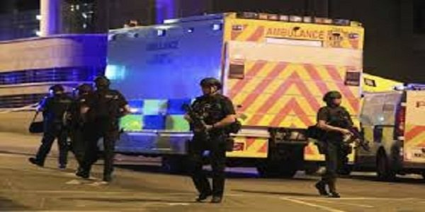 Five people arrested over Manchester concert bombing that kills 22