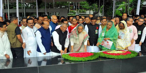 Awami League's founding anniversary being celebrated