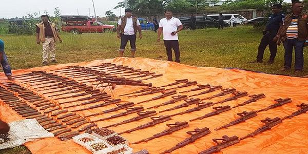 Bangladesh seizes cache of arms, ammunition near Dhaka