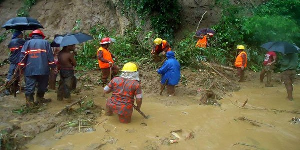 Emergency aids after Bangladesh landslides kill 149