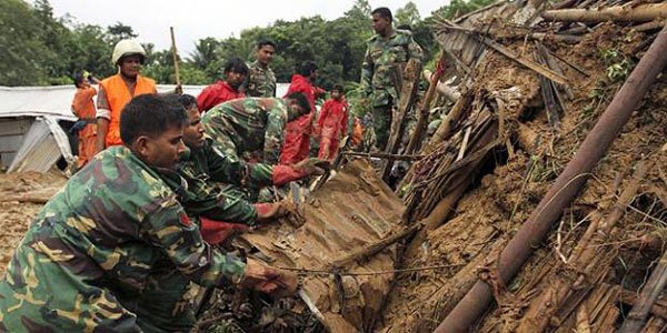 Bangladesh landslides kill 69