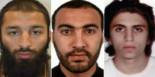 All three London Bridge attackers named