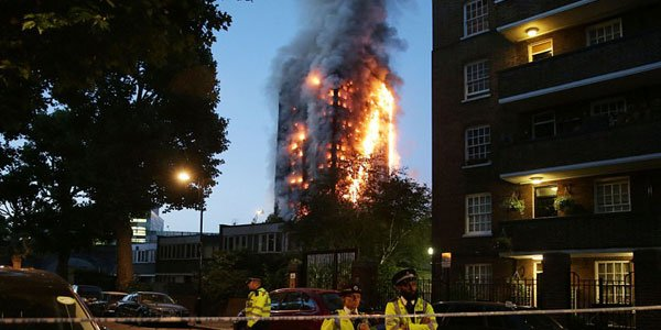 London tower block fire kills 12