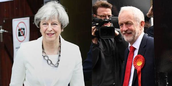 UK snap polls result in hung parliament