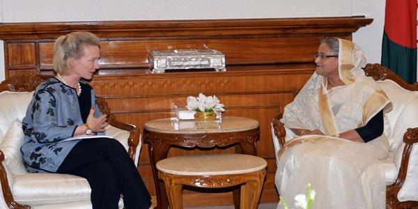 Dhaka urges Washington to put pressure on Myanmar