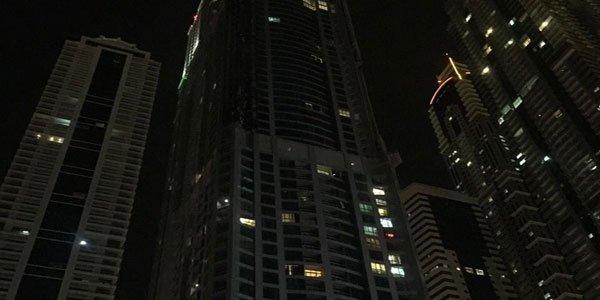 Fire at Dubai skyscraper