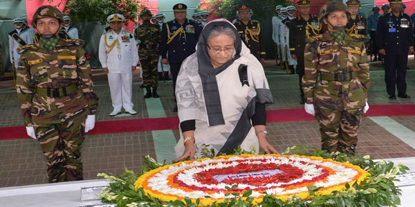 Nation pays homage to Bangabandhu