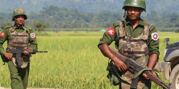 Bangladesh protests Myanmar's military build-up along south-eastern border