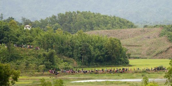 Myanmar attributes 'internal security' for troops' buildup