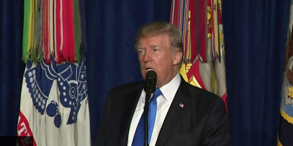 Trump rules out troops withdrawal from Afghanistan
