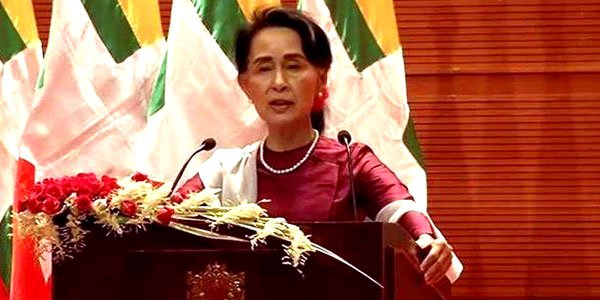 Suu Kyi does not fear international 'scrutiny' over Rohingya crisis