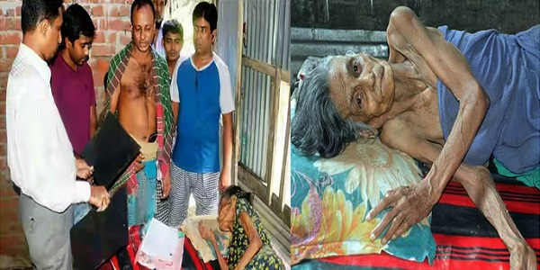 Solvent sons allegedly abandon ailing mother to become beggar