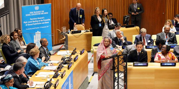 Bangladesh reaffirms commitment to end sexual abuse of peacekeepers