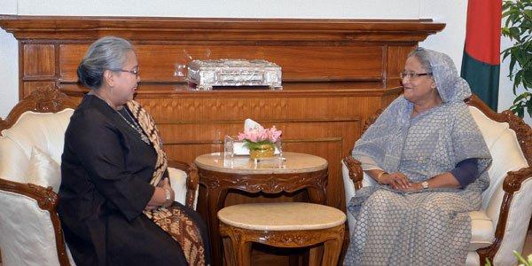 Put pressure on Myanmar for Rohingya repatriation, Hasina urges