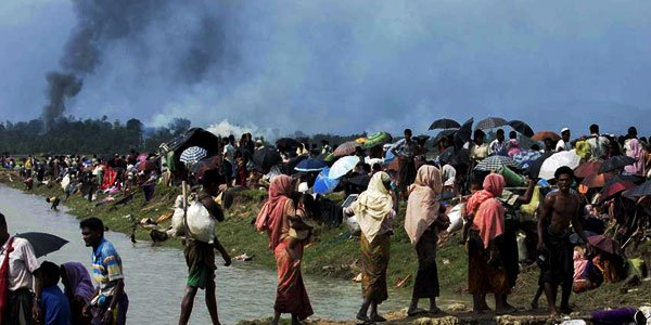 146,000 Rohingya enter Bangladesh after Rakhine brutality