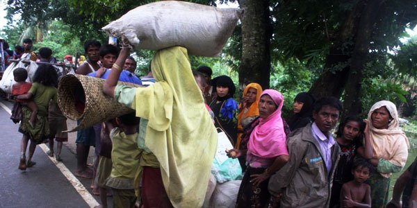123,000 Rohingya enter Bangladesh in desperate need for shelter, food