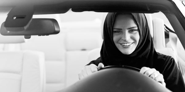 Saudi Arabia allows females driving cars for the first time