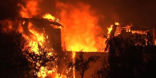 California wildfire leaves 17 dead, many missing