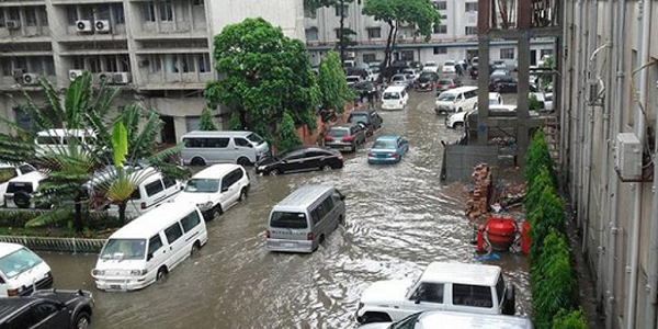 Sufferings intensified in rain battered city