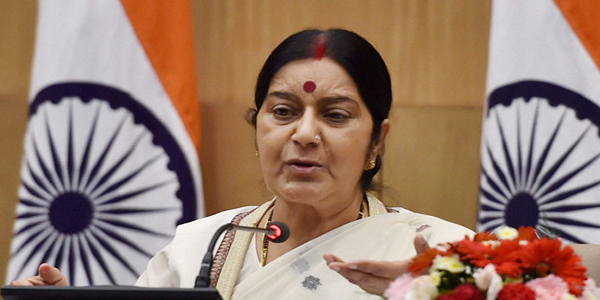 Sushma Swaraj due to arrive in Dhaka Sunday for talks
