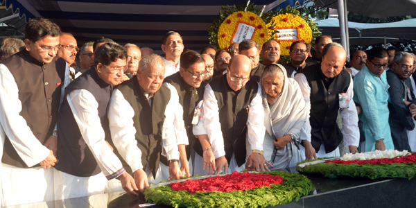 Homage paid to four Bangladeshi leaders killed in jail in 1975
