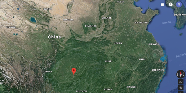 Blast in China kills two