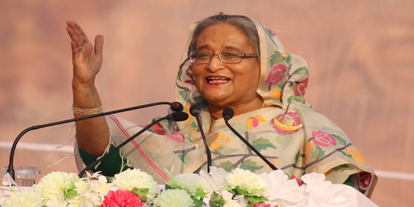 Hasina urges people to stay alert against anti-liberation forces