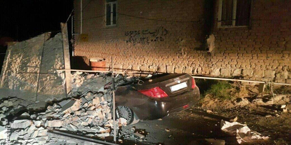 More than 300 killed as powerful earthquake strikes Iran, Iraq