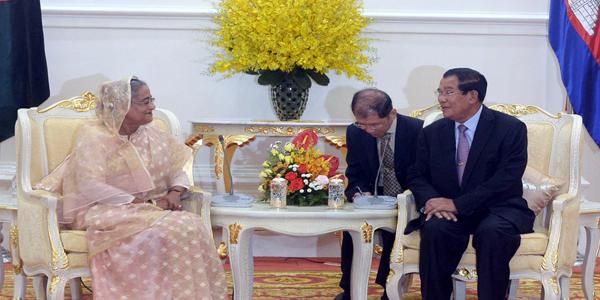 Bangladesh seeks Cambodian support over Rohingya crisis