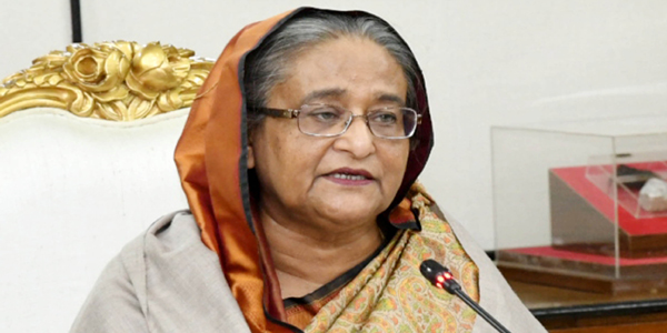 Hasina calls for collective resistance against militancy