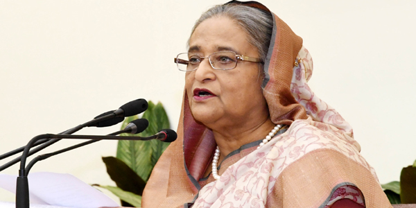 Hasina rules out dialogue with Khaleda over next polls