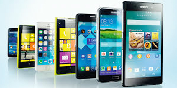 Inbound passenger can bring eight mobile handsets