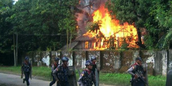 Rights group calls on Myanmar to stop violence
