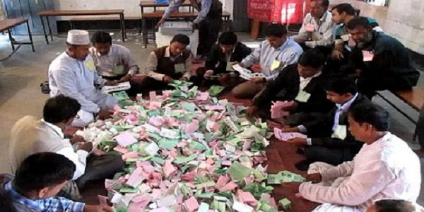 Rangpur voting ends peacefully, CEC trashes BNP's allegations