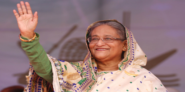 Hasina seeks vote for 'boat' as AL launches pre-election campaign