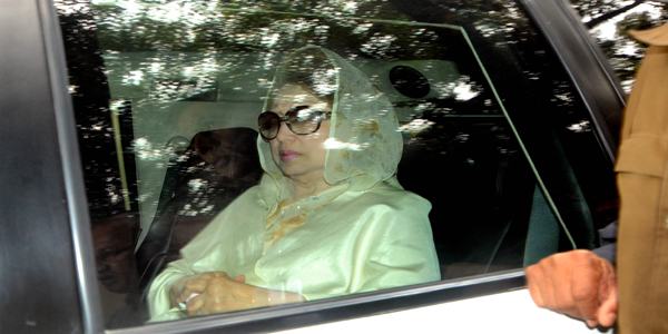 Khaleda shifted to jail from hospital