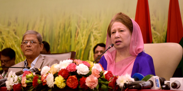 Khaleda sets conditions for next elections