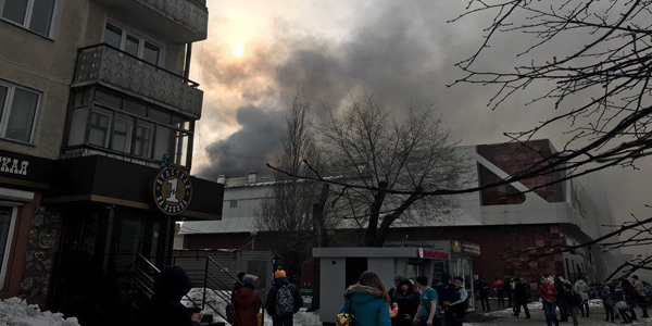 Mall fire kills at least 53 in Russia