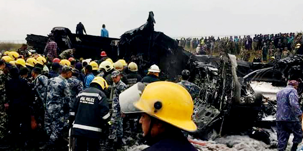 49 killed after US-Bangla passenger plane crashed in Kathmandu