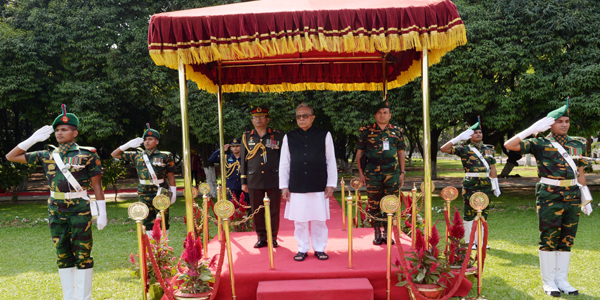 President Hamid begins his second consecutive tenure